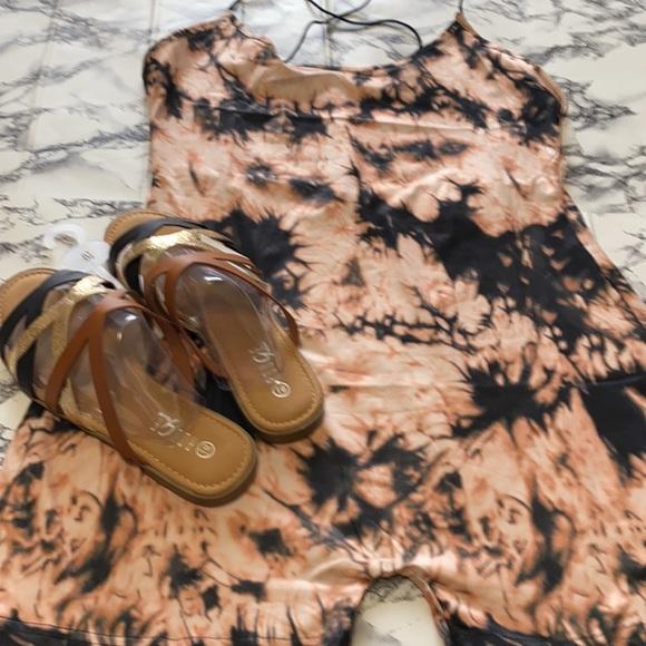 Romper & women's Sandals